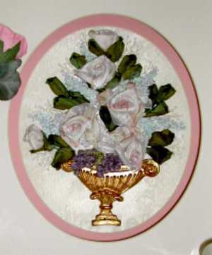 Rose and Lilac Urn